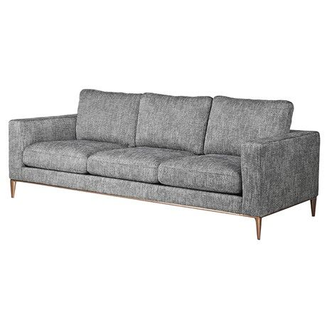 Georgina Grey 3 Seater Sofa