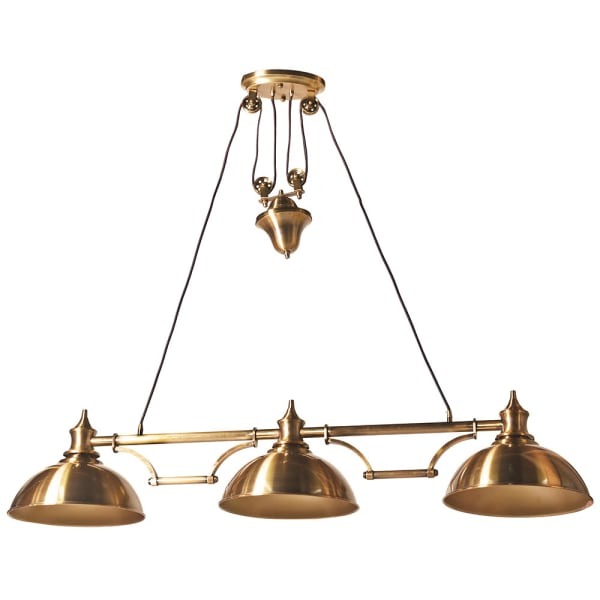 Pulley Bronze Pendant Light