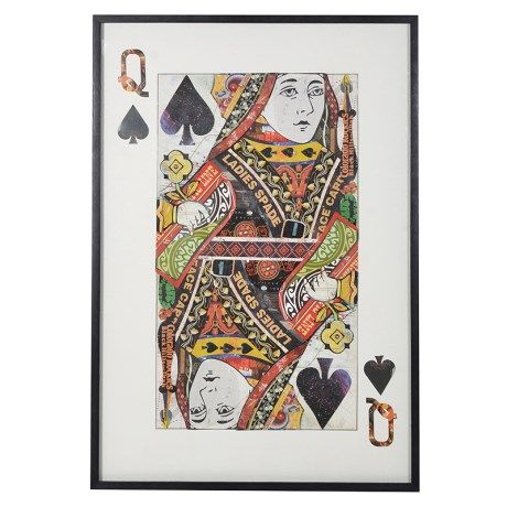 Queen of Spades Picture Collage